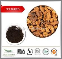 Water soluble Chaga mushroom extract, Chaga extract/Polysaccharides 10%~50%