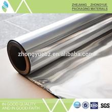 PE/VMPET/PE laminated film for foam insulation