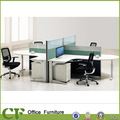 Plazas 4 dimensiones de estación de trabajo, persona 4 cubículos de oficina partición cd-88805