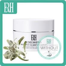 ERH Brand Name EDELWEISS Skin Face Dark Spot Whitening Cream Formula