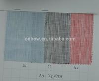 2015 Shirt 100% flax linen fabric wholesale