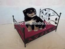 2015 new design bed for dog, metal frame pet bed luxury, best-selling pet furniture