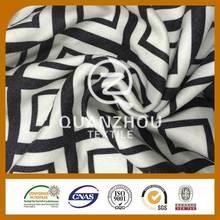 China fabric wholesale Suit use Brush print polyester fabric