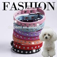 New Arrival Pet Training Collar Crystal Pet Collar Leash Rhinestone Pet Dog Collar