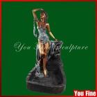 Life Size Sex Women Sculpture,Female Bronze Statue
