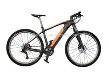 electric mountain bicycle/ carbon fiber e bike/ cruiser/ hidden battery/bofeili/ cheap fast light/full suspension sale