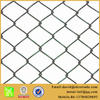 PVC coated chain link fence/ Galvanized chain link fence