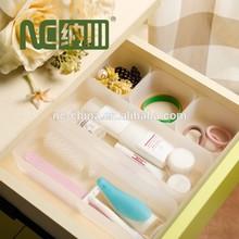Plastic Drawer Storage Box Organizer for Kitchen Cosmetics Stationery