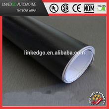 Factory direct sales 1.52*30m black matte car wrap decorative vinyl sticker roll