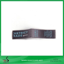 Sinicline Soft Handfeel Smooth Satin Printed Label For Hats