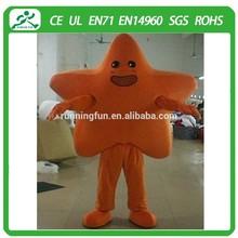 Funny star mascot costumes/star costume mascot/star mascot cartoon for activities