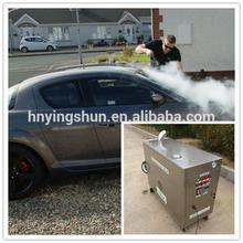 2015 CE no boiler 18 bar diesel steam car wash equipment /steam auto interior cleaning