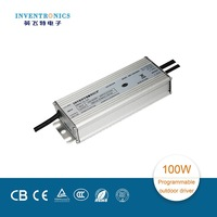 2015 Inventronics Brand 5 years warranty ac input 90-305V dc 20-50V dimmable waterproof 100W switch led driver