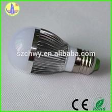 money saving pure white e27 3 watt led bulb,led light bulb