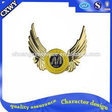 custom wings badges
