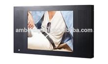 15 Inch advertising tv with metal frame, Promotional tablet digital kiosk