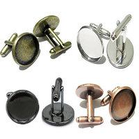 Beadsnice copper cufflink parts manufacturer jewellery onlin cufflinks backs fabrication handmade cuff link company ID8897