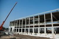Steel structure prefabricated metal shop buildings