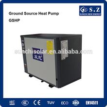 Minus 25C winter floor / radiator heating home 10Kw/15Kw/20Kw/25Kw R407C Geothermal heat recovery with heat pump