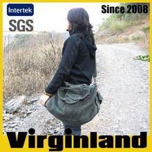 2015 new product Virginland 100% cotton vintage washed canvas duffel bag travel bag golf travel bag
