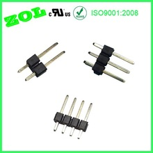 2.54 mm single row 2P 3P 4P pin header connector