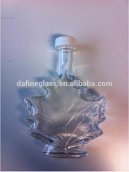 Maple Leaf Syrup Bottles Maple Leaf Shape Glass Bottles