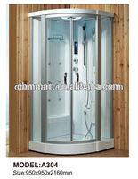 simple rectangular steam shower room 101