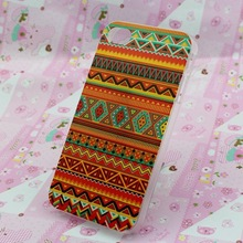 For custom printed hard plastic iphone case 4 4s with good quality printing