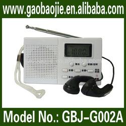 Best price with good quality! Motorcycle radio fm mp3 portable mini radio