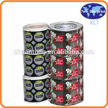 cosmetics private label sticker,fancy custom logo printed waterproof adhesive sticker,adhesive packaging label
