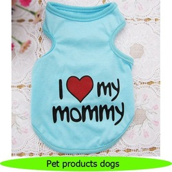 Cheap summer pet tank tops pet products dogs