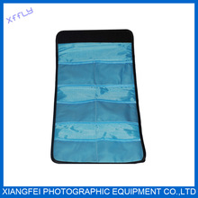 High Quality Photographic Accessories Black camera filter bag for 6 pcs of lens