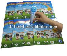 Multiple languages reading pen for kids learning arabic english french kurdish languages