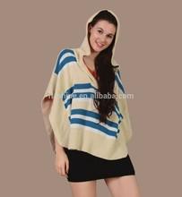 The Merino wool women's fashion poncho