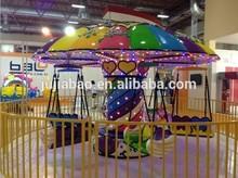 Children outdoor amusement park ride playground equipment flying chair for sale