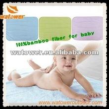 2012 New waterproof bamboo fiber baby diaper mat