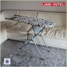 Designer furniture felt top iron board with three step ladder