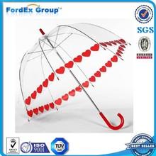 2015 POE/PVC/EVA Child Transparent Umbrella Manufacturer China