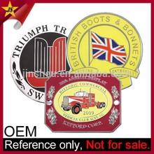 Wholesale Custom Design Metal Foreign Round Car Logo Emblem