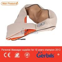 Vehicle furnishing battery kneading shoulder shiatsu neck massage pillow back massage belt