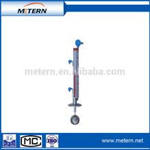 Top-installed magnetic float level gauge