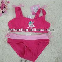 2013 Branded Name Fashion Pattern Girls Baby Swimsuit