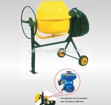 2.5HP Gas Engine electrical start 200L Mini Concrete Mixer
