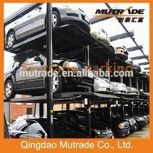 Mutrade Three Floors Four Post Stacker Smart Parking Equipment