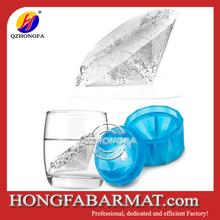 New design Luxurious diamond shape silicone ice cube tray