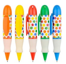 multicolor fat ball Pen