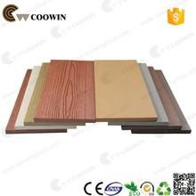 Building wall wood plastic composite slats