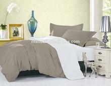 Luxury 100% Polyester Microfiber Plain Dyed Comforter Duvet Cover Sets Bed Sheet Set
