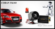 Remote engine off vehicle GPS tracker TK103 SMS/GPRS dual-mode switching car gps tracker fuel/ACC/door/SOS alarm