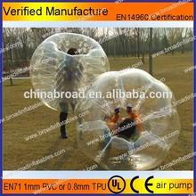cheap human inflatable bumper bubble ball